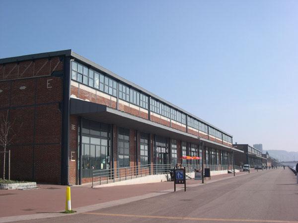 Hangars portuaires rouen jean marie mandon architecte - Grand port maritime de rouen ...