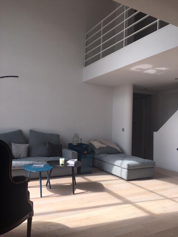 Appartement duplex paris jean marie mandon architecte for Duplex appartement paris